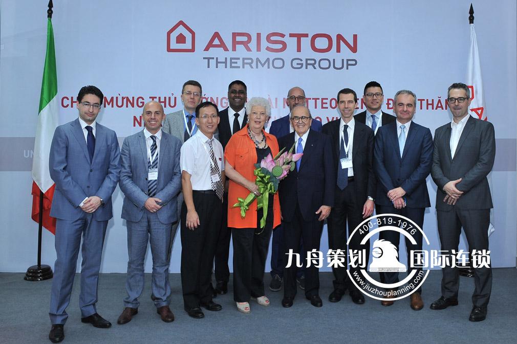 意大利总理访问阿里斯顿热能产品集团越南工厂