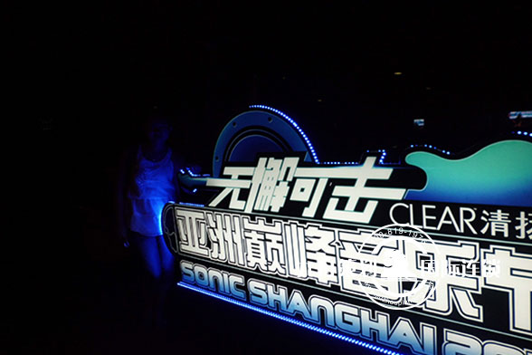 无懈可击亚洲巅峰音乐节 logo制作
