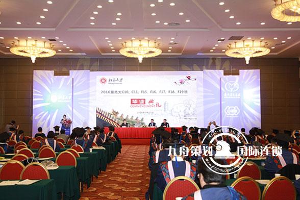 北京大学同学资源大会会场